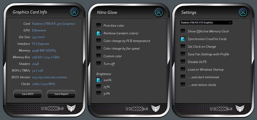 SAPPHIRE Radeon RX 470 NITRO+ OC 4GB Review   TechPorn