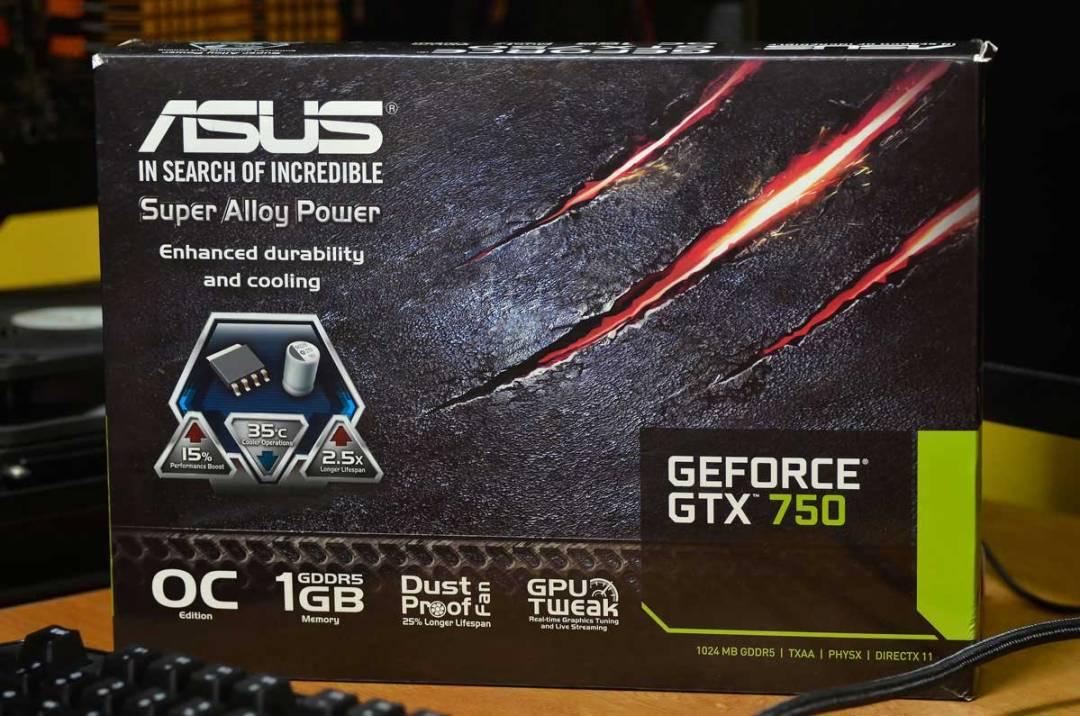 ASUS GTX 750 OC (2)