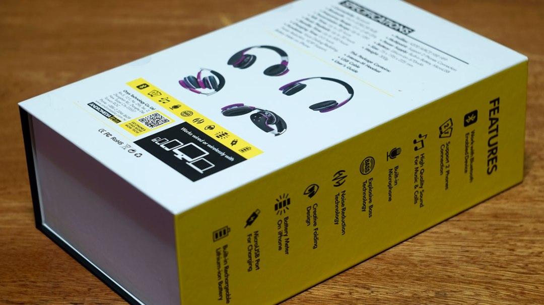 Andromedia Intense M Wireless Bluetooth Headset (2)