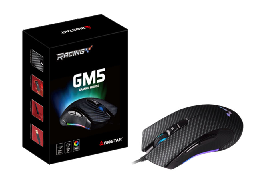 Biostar GM5 Gaming Mouse PR (2)