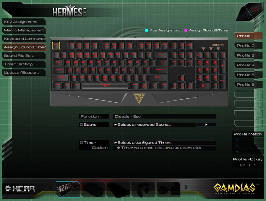 GAMDIAS HERA Software (5)