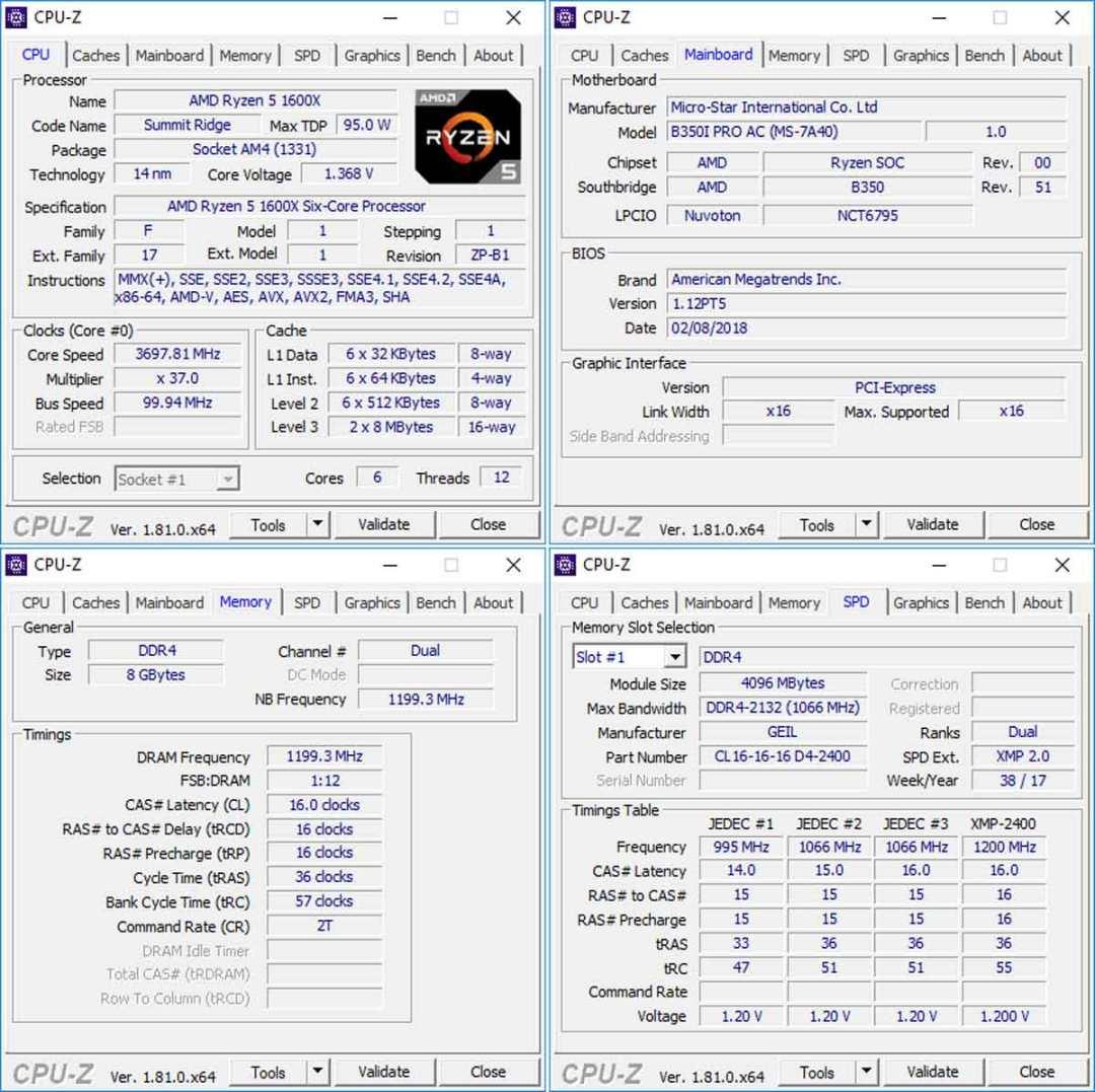 Review | GEIL Super Luce RGB Lite 2400MHZ 8GB DDR4 Memory