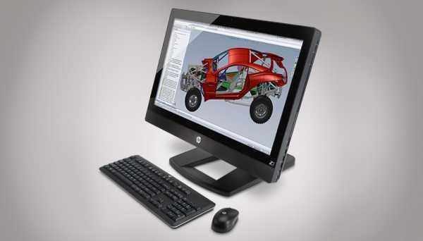 HP Z1 AIO Workstation