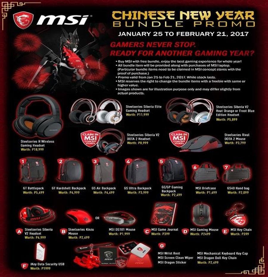 MSI PH Notebook CNY 2017 Promo PR (3)