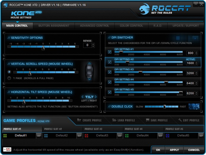 ROCCAT Kone XTD Softwares (2)