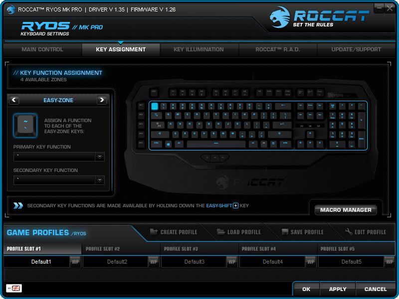 ROCCAT Ryos Software (2)