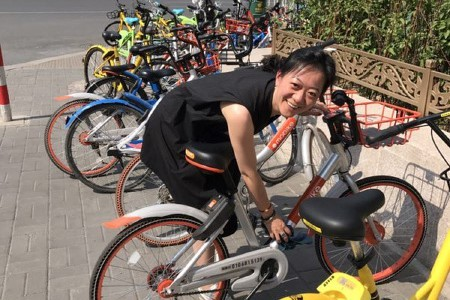 BSA's Beijing office helped collect, clean, and organize bikes