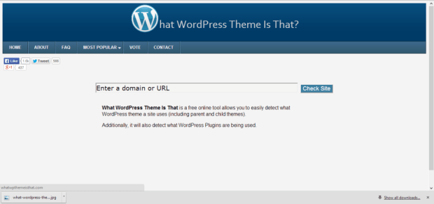 What WordPress Theme Is That_