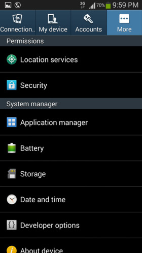 application-manager-android-settings