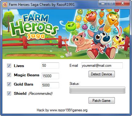 farm heroes saga cheats