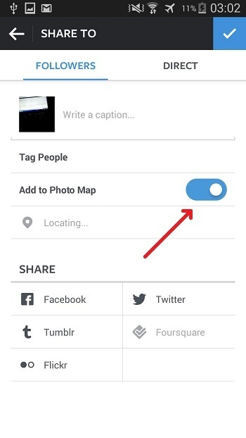 Geo-tag In Instagram - Techposts
