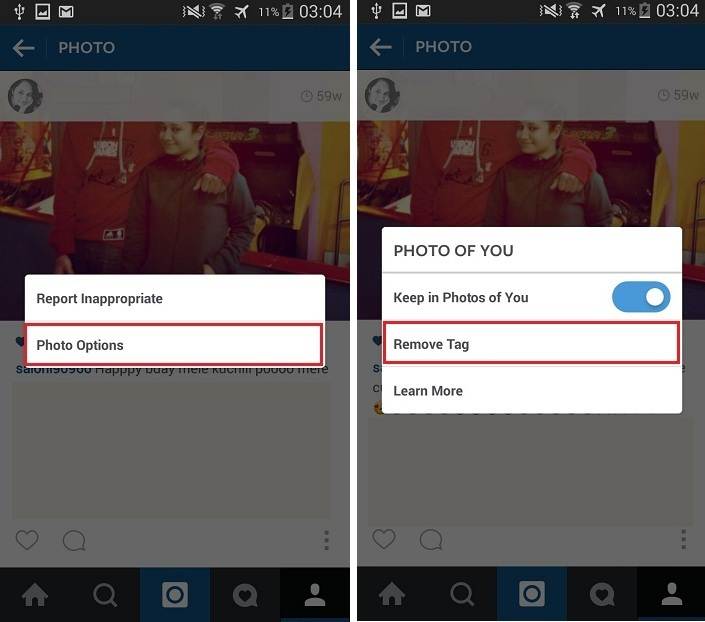 Remove a Tag on Instagram - techposts.org