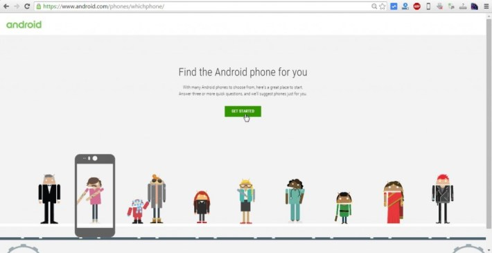 Google Tool Helps Find the Best Android Phone for You