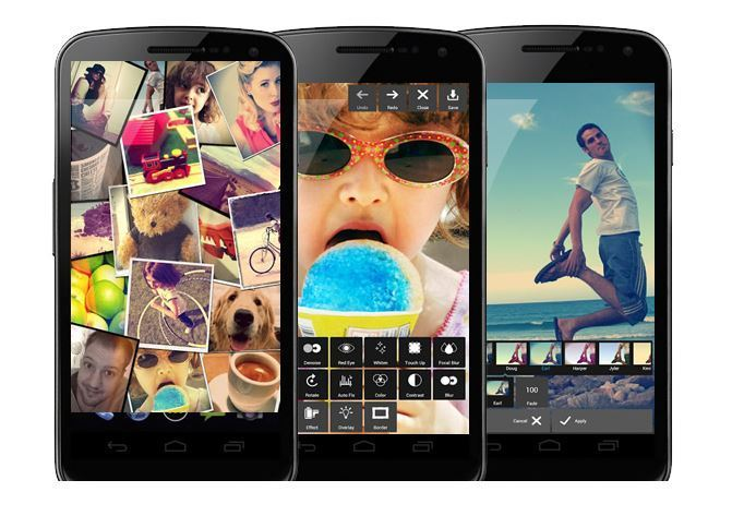 Pixlr app for iPhone and Android Devices