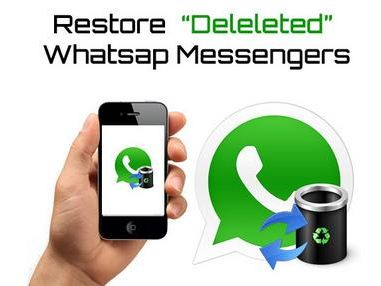 Restoring deleted Whatsapp messages Trick 2K15