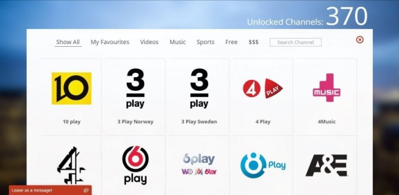 More than 368 Unlocked Channels