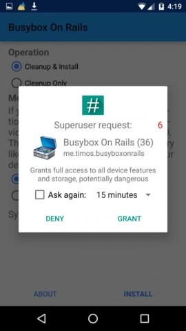 Grant Superuser Access to app