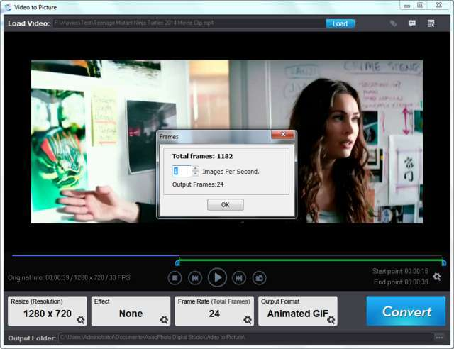 Free Full version Video to GIF convertor