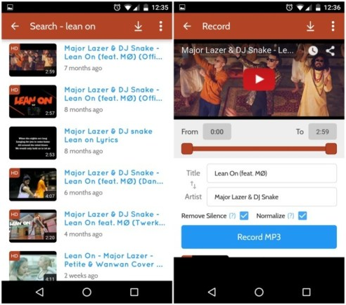 Search Songs and Download on Any Android Device