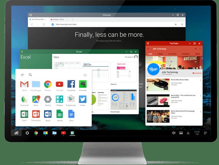 Android Lollipop based Remix OS for Desktop Windows PC