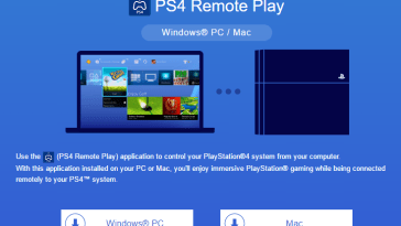 PS4 Remote play for Windows and Mac