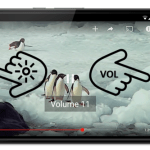 Adjust Brighness and Volume in Youtube App By just Swiping