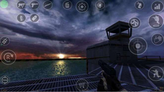 Counter Strike for Android - Touch Controls