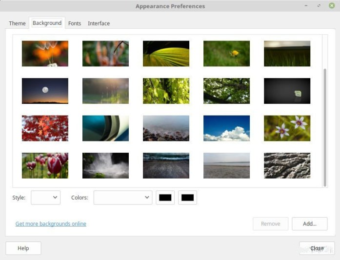 Linux Mint 18 Backgrounds