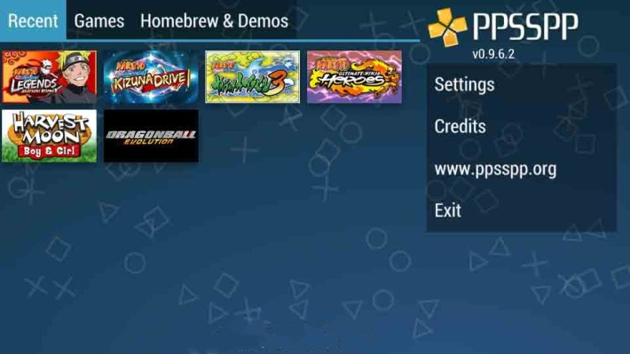 PSP Games ROM i have on my iPhone 6S