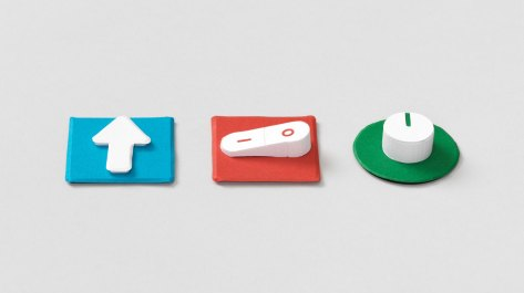 Pucks acts like switches in Google's Project Bloks