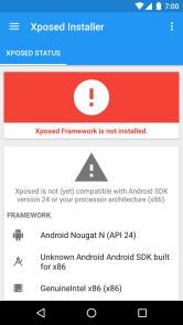 Xposed Installer Material Design
