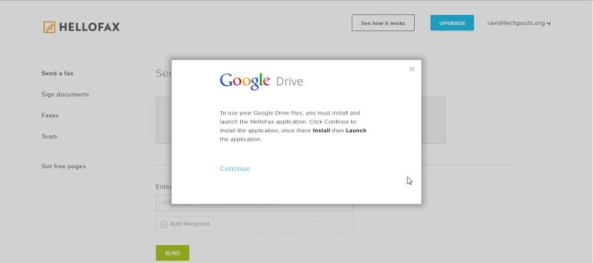 Pull Documents and files from Google Drive