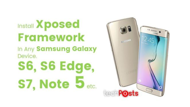 Xposed for Samsung galaxy devices