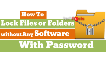 Lock Unlock folder without any Software with Password