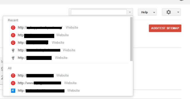 Chose old website for address change