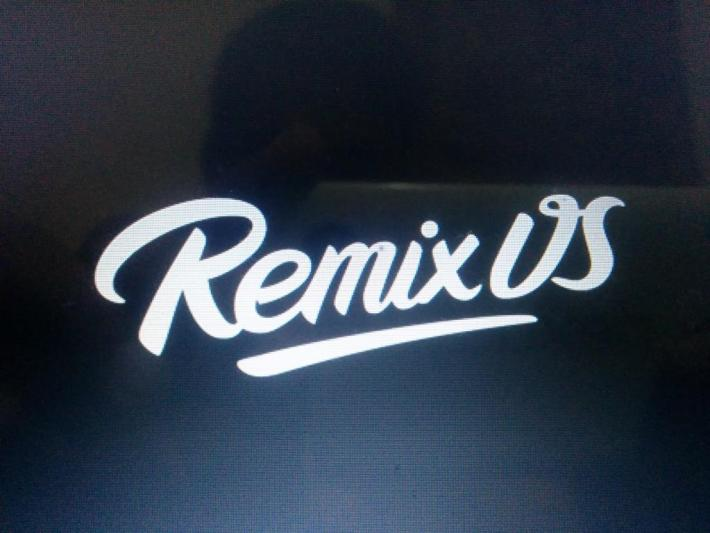 Remix OS installed on PC with Windows