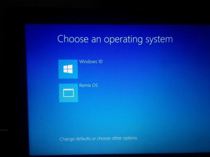 Dual Boot Remix OS with Windows OS