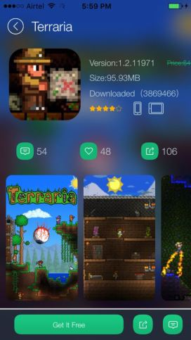 Example of a free app games
