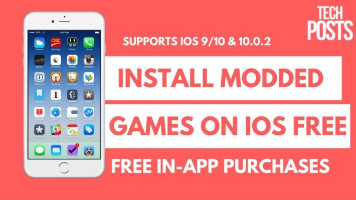 Install Modded iOS apps and games on iPhone, iPad and iPod Touch