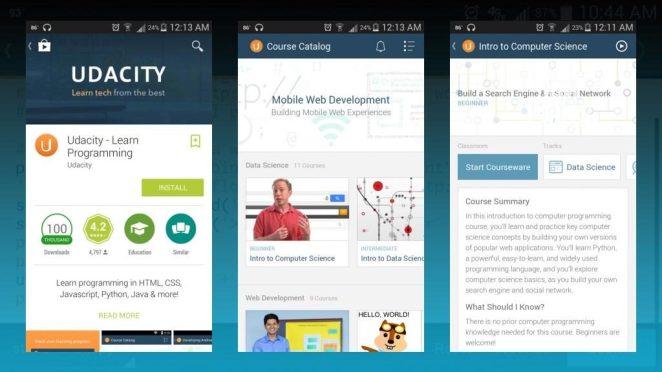 Udacity app