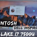 Mac OS on Dell Inspiron 7000 Kaby Lake i7 7500U - Quick Review
