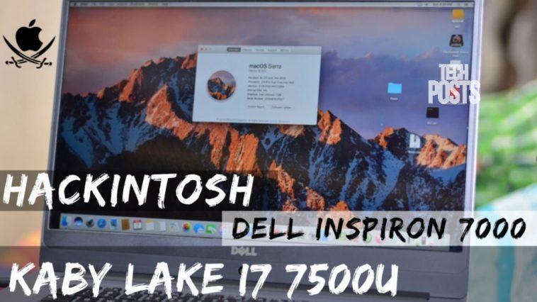 Mac OS on Dell Inspiron 7000 Kaby Lake i7 7500U - Quick Review
