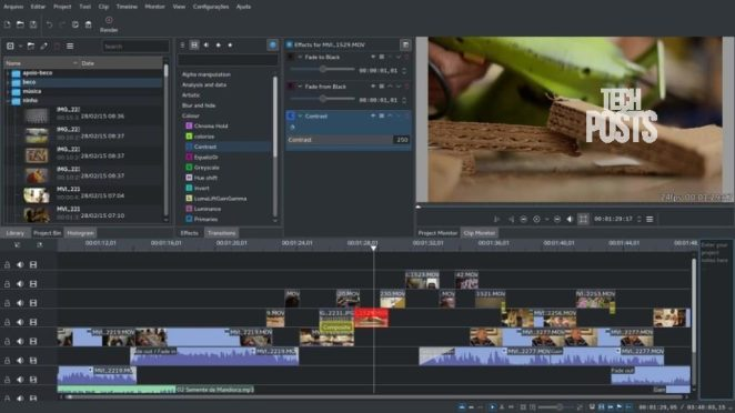 Kdenlive is best Premiere Pro ALternative