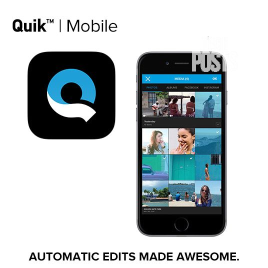 Quik Mobile Video Editing