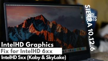 IntelHD Graphics fix for Intel Kaby Lake and Skylake 520, 530, 620 and 630
