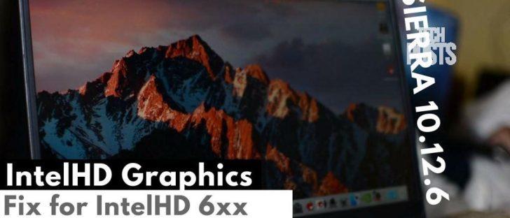 IntelHD Graphics fix for Intel Kaby Lake and Skylake 520, 530, 620 and 630