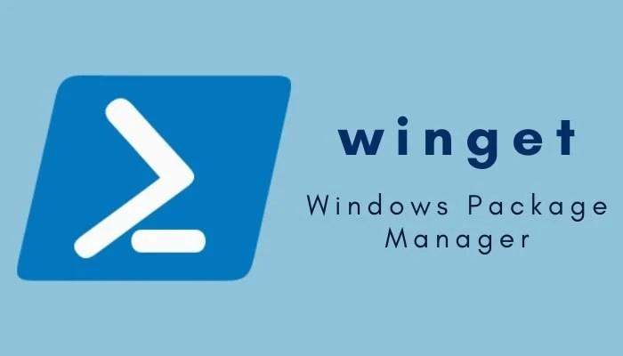 менеджер пакетов Windows Winget
