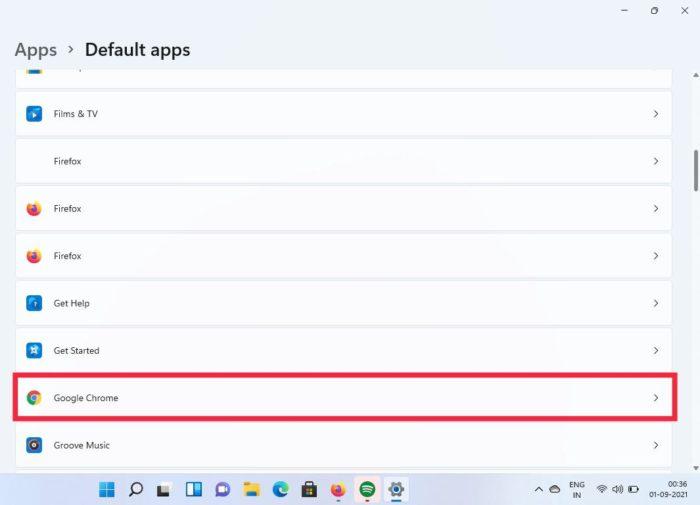 приложения по умолчанию для Windows 11
