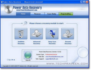 Power Data Recovery 4.52