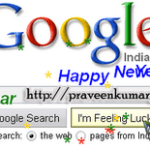 Google New Year Easter Egg For 2010